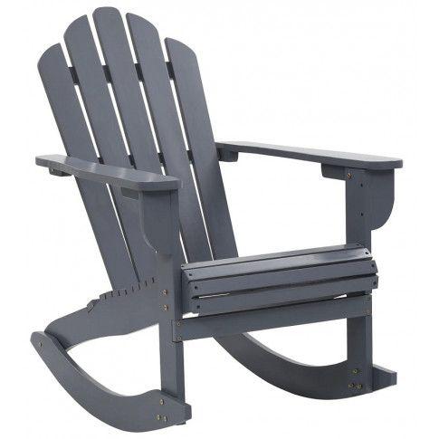 szare bujane krzesło ogrodowe daron