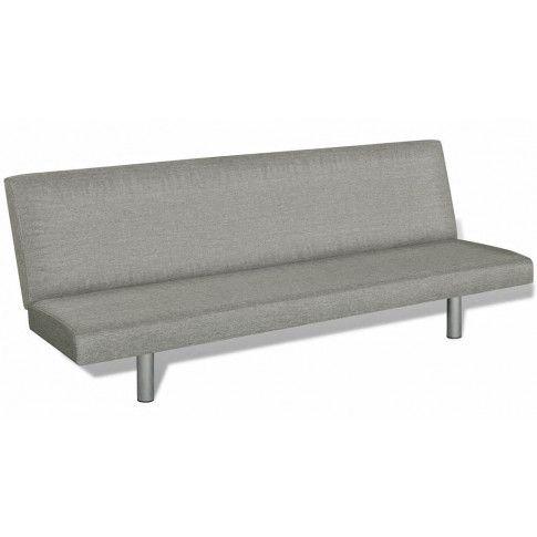 Zdjęcie produktu Sofa tapicerowana Melwin 2X – szara .