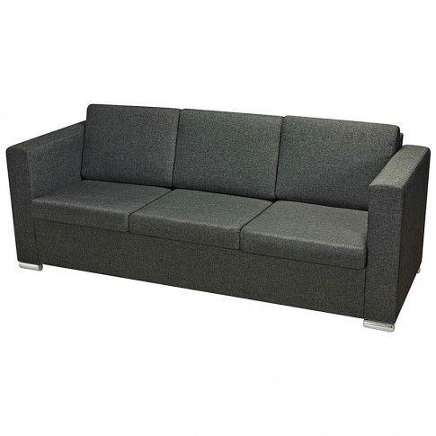 trzyosobowa sofa sigala3q ciemnoszara