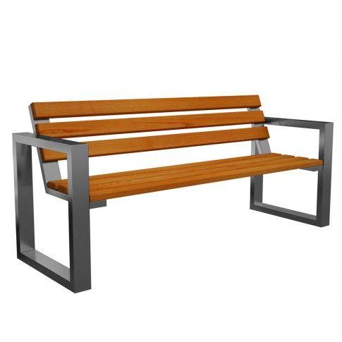 Zdjęcie produktu Ławka ogrodowa Norin Silver 150cm - 8 kolorów .