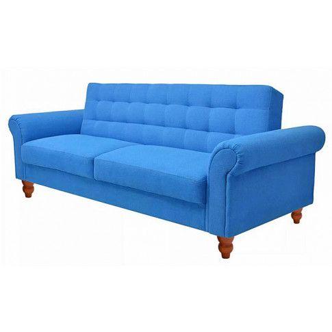 Zdjęcie produktu Sofa rozkładana Kallisto 2K - niebieska.