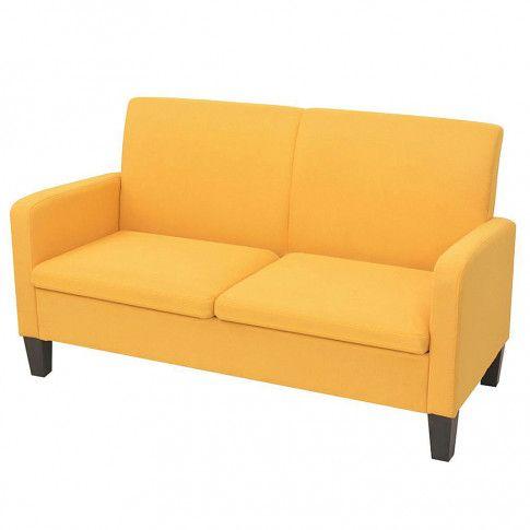 Zdjęcie produktu Stylowa kanapa Triniti 2Q - żółta.