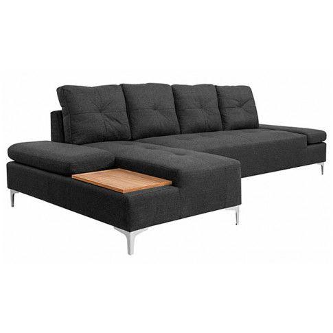 Zdjęcie produktu Sofa narożna Corintia 3T - ciemnoszara.