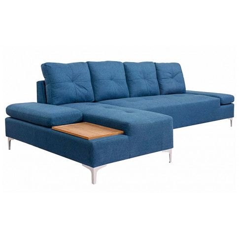 Zdjęcie produktu Sofa narożna Corintia 5T - niebieska.