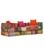 Patchworkowa modułowa sofa Demri 5D