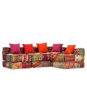 Modułowa sofa patchworkowa Demri 6D