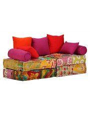 Modułowa sofa patchworkowa Demri 2D
