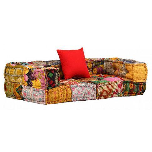 Zdjęcie produktu 2-osobowa modułowa sofa patchwork Demri 1D.