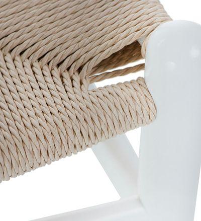 Stylowe krzesło Ermi - jasne
