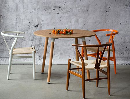 Designerskie krzesło Ermi - wygodne
