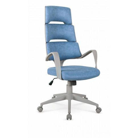 Zdjęcie produktu Fotel gabinetowy Dunik - niebieski.