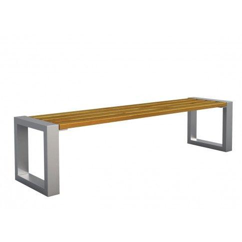 Zdjęcie produktu Ławka miejska Norin 3X Silver 150cm - 8 kolorów .