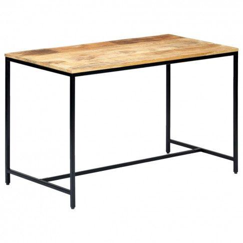 Zdjęcie produktu Stół z drewna mango Avis – jasnobrązowy .