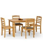 Drewniany stół Cezir - złota olcha
