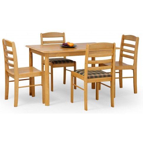 Zdjęcie produktu Drewniany stół Cezir - złota olcha.