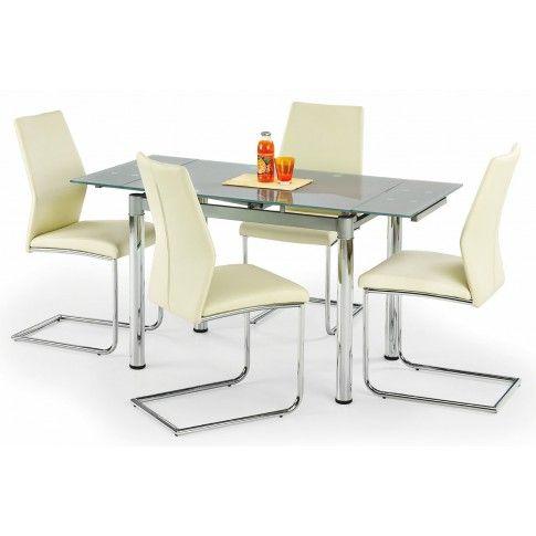 Zdjęcie produktu Rozkładany stół Promex - popielaty.