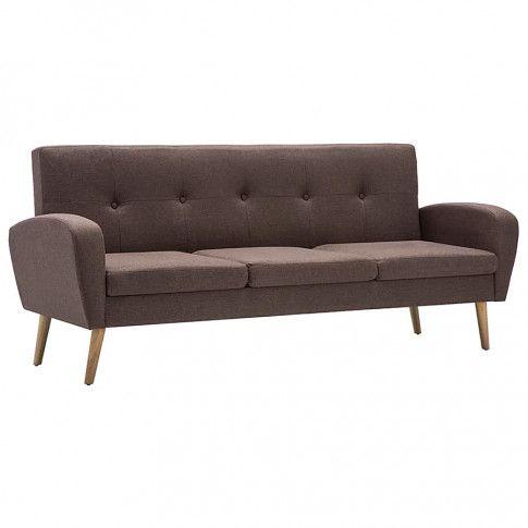 trzyosobowa sofa anita3q brazowa