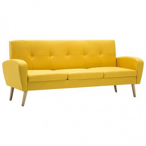 trzyosobowa sofa anita3q zolta