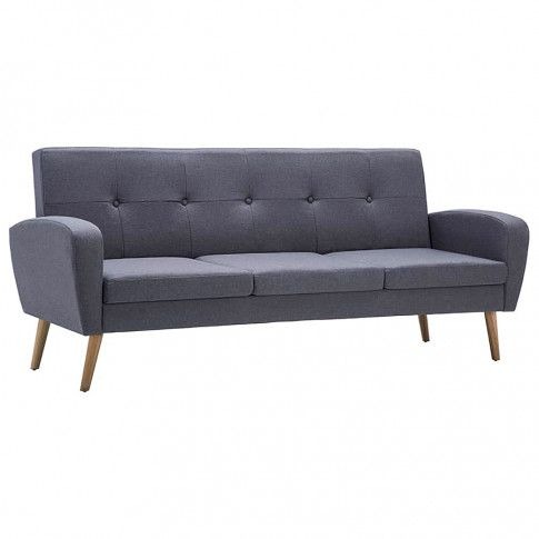 trzyosobowa sofa anita3q jasnoszara