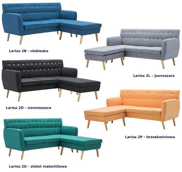 warianty kolorystyczne sofy Larisa