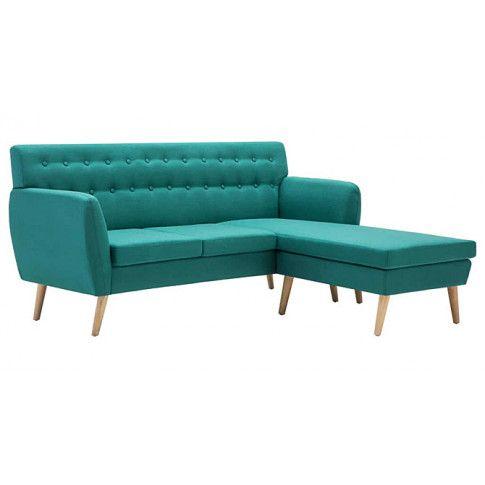 Zdjęcie produktu Tapicerowana pikowana sofa Larisa 2G - zielona.