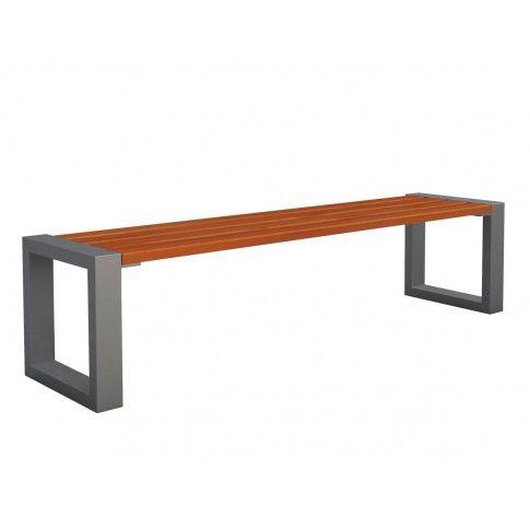 Zdjęcie produktu Ławka bez oparcia Norin 3X Gray 150cm - 8 kolorów .