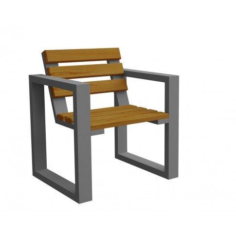 Zdjęcie produktu Fotel ogrodowy Norin Gray - 8 kolorów .