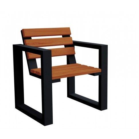 Zdjęcie produktu Fotel ogrodowy Norin Black - 8 kolorów .