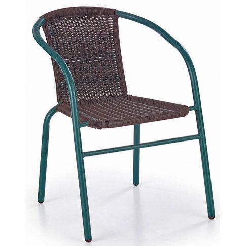 Zdjęcie produktu Rattanowe krzesło ogrodowe Tivoli - ciemny brąz.