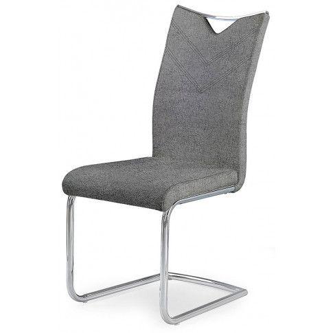 Zdjęcie produktu Krzesło tapicerowane Eldor 2X - popielate.