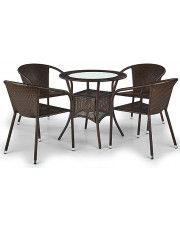 Rattanowy stół ogrodowy Lukka - okrągły