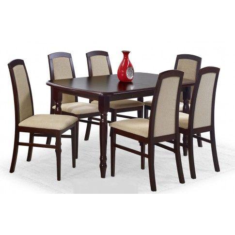 Zdjęcie produktu Rozkładany stół Dires - ciemny orzech.