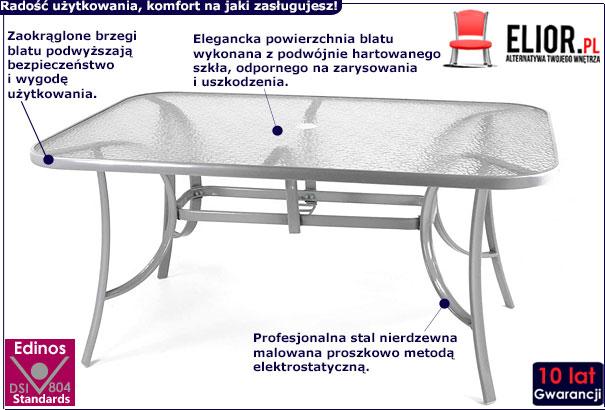 Stół ogrodowy Malaga