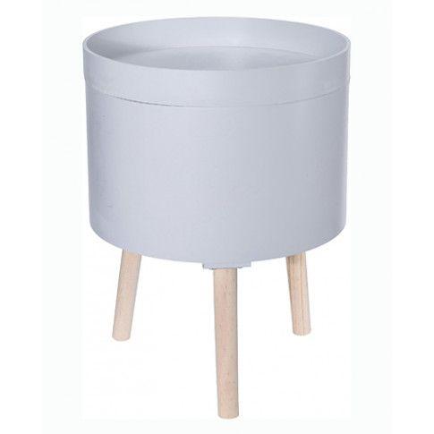 Zdjęcie produktu Otwierany stolik kawowy Orego - szary.