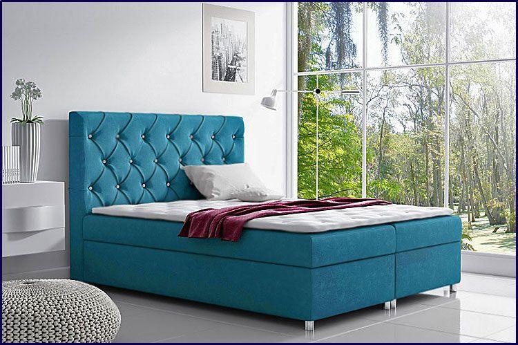 Pojedyncze łóżko kontynentalne z pojemnikiem na pościel 140x200 Clara