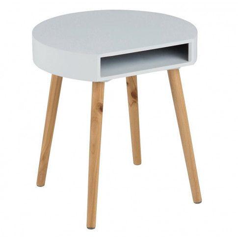 Zdjęcie produktu Skandynawski stolik kawowy Unami - szary.