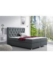 Łóżko kontynentalne Clara 160x200 - 44 kolory