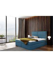 Łóżko kontynentalne Frezja 160x200 - 44 kolory