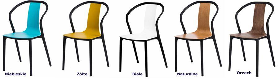 Wygodne krzesła Emeli - designerskie