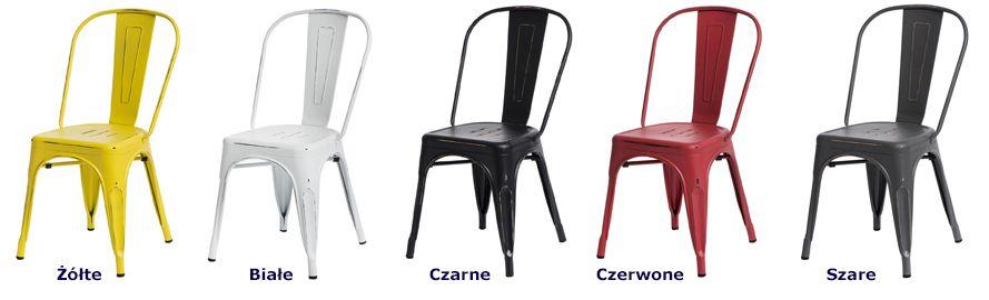 Industrialne krzesła Kimmi 4X - wygodne