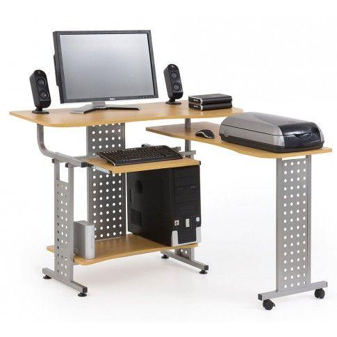 Rewelacyjny Biurko rozkładane Protis 3X komputerowe - sklep Edinos.pl JA14