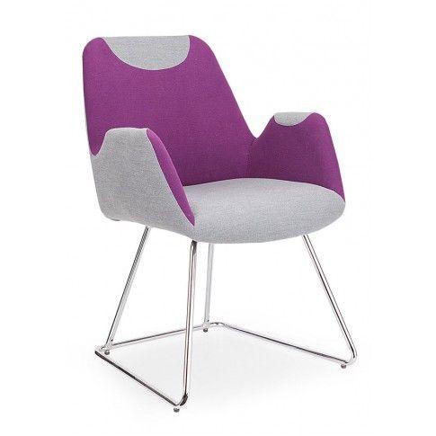 Zdjęcie produktu Fotel wypoczynkowy Marvin - fioletowy.