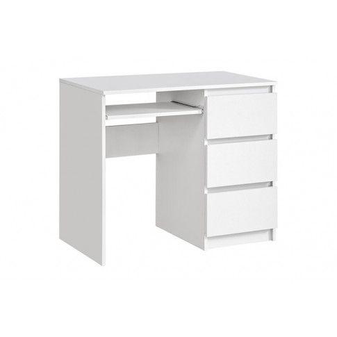 Zdjęcie produktu Nowoczesne biurko Luvio - białe.