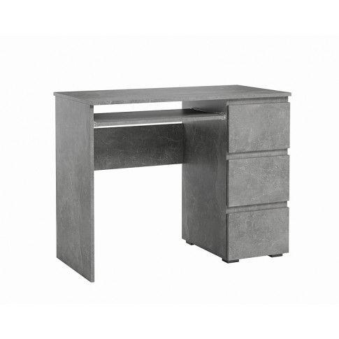 Zdjęcie produktu Nowoczesne biurko Luvio - beton.