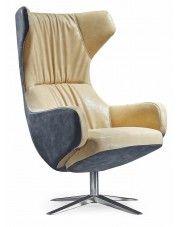 Tapicerowany fotel wypoczynkowy Eliors w sklepie Edinos.pl