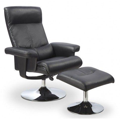 Zdjęcie produktu Fotel wypoczynkowy z podnóżkiem Delix.