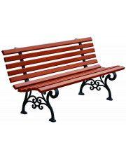 Romantyczna ławka parkowa Halszka 180 cm - 7 kolorów