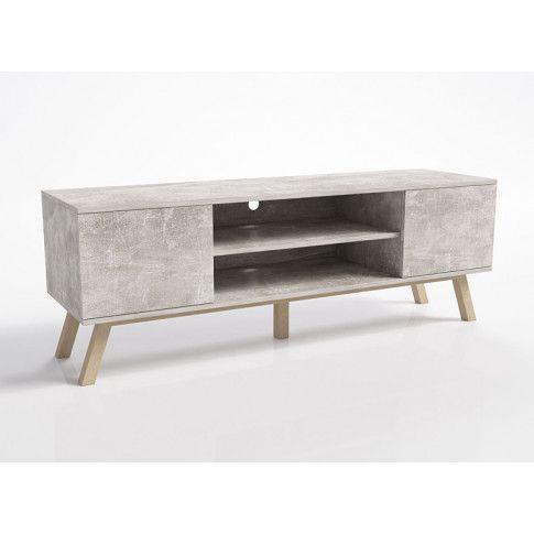 Zdjęcie produktu Designerska szafka rtv Ukla - beton.