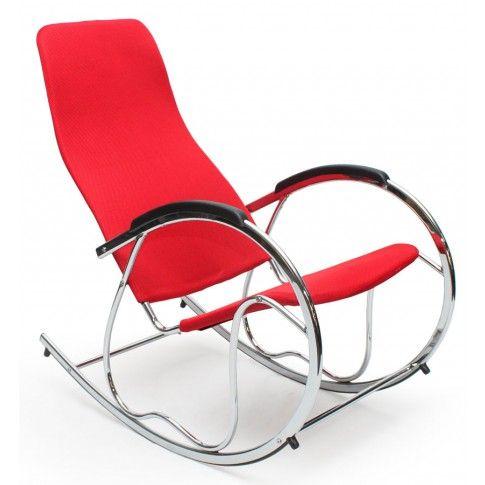 Zdjęcie produktu Fotel bujany Belix - czerwony.