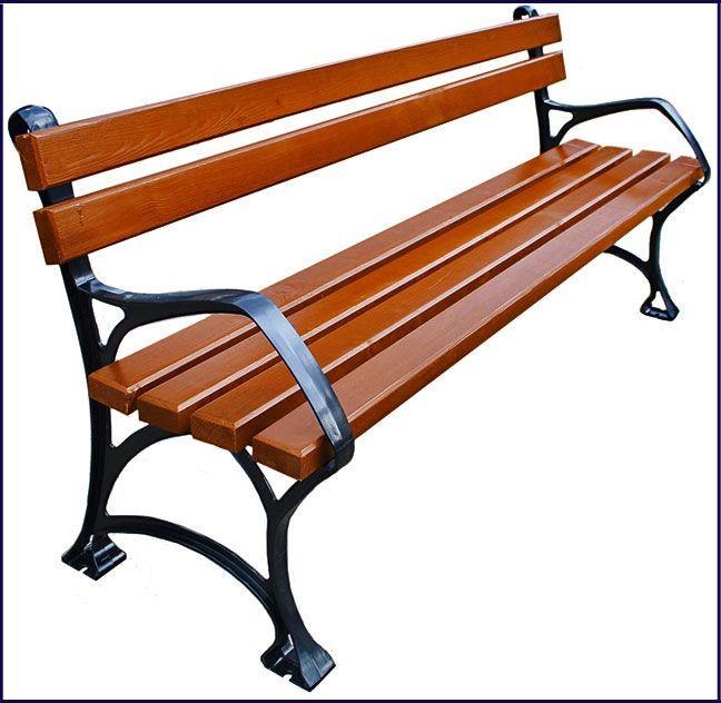 ławka drewniana parkowa Sovella